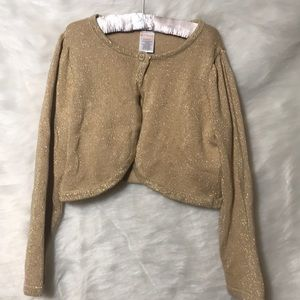 Child's Gymboree Gold Sweater